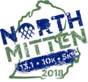 North Mitten Half Marathon, 10K & 5K 2018