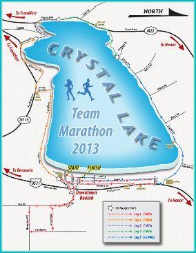 2017 Crystal Lake Team Marathon