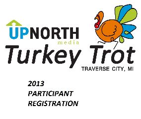 Traverse City Turkey Trot for Charity 2013