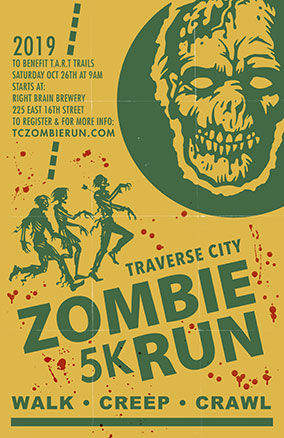 2019-Zombie Run-5K Walk/Run