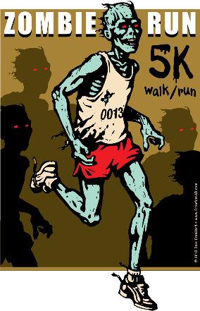2012 - Zombie Run - 5K Walk/Run